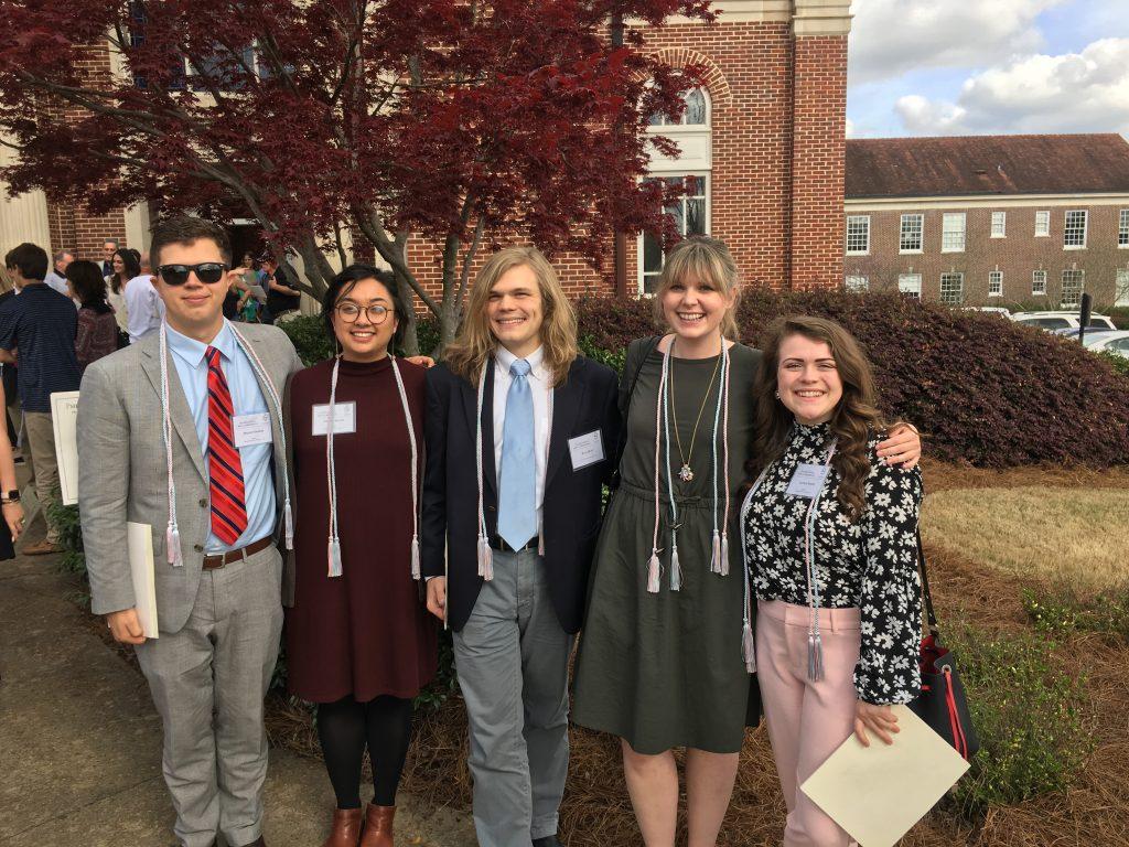 Phi Beta Kappa Induction 2019