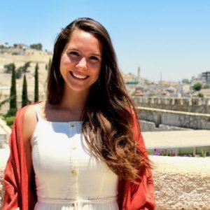 Photo of Charlotte Armistead in Jerash, Jordan